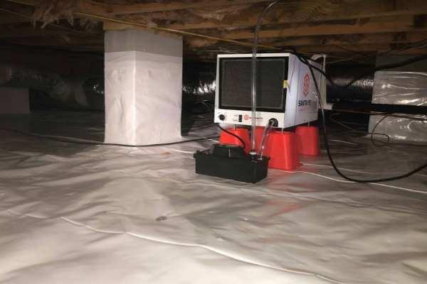 crawlspace humidity monitoring